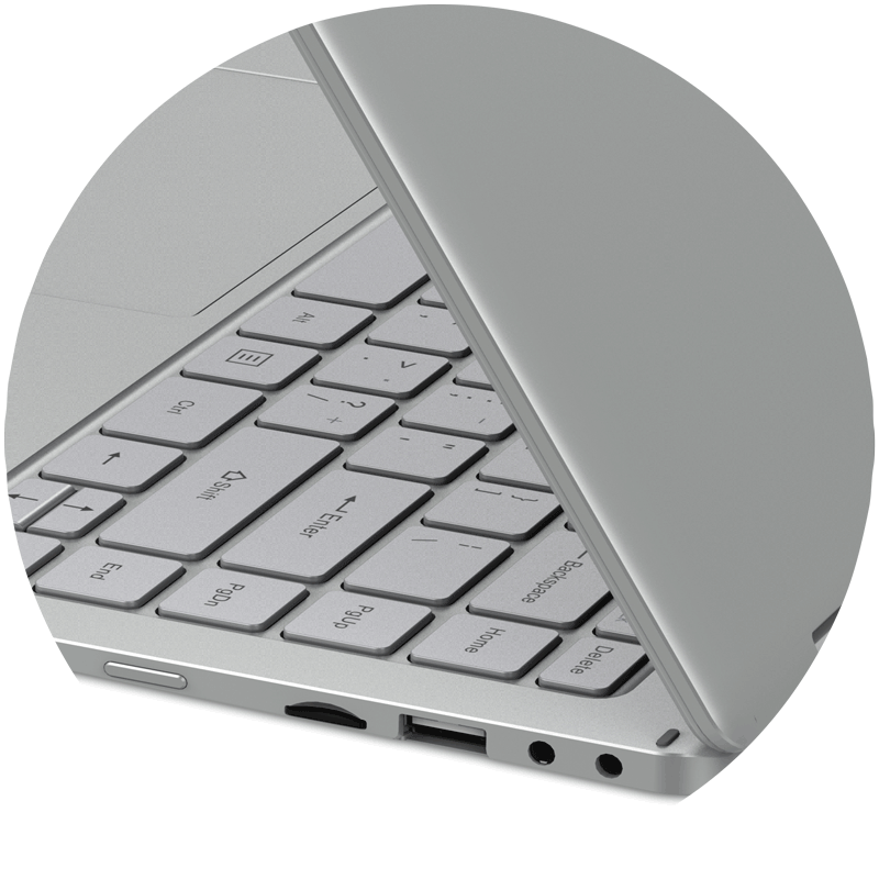 GeoFlex3_Windows10_Convertible_Laptop_Ports