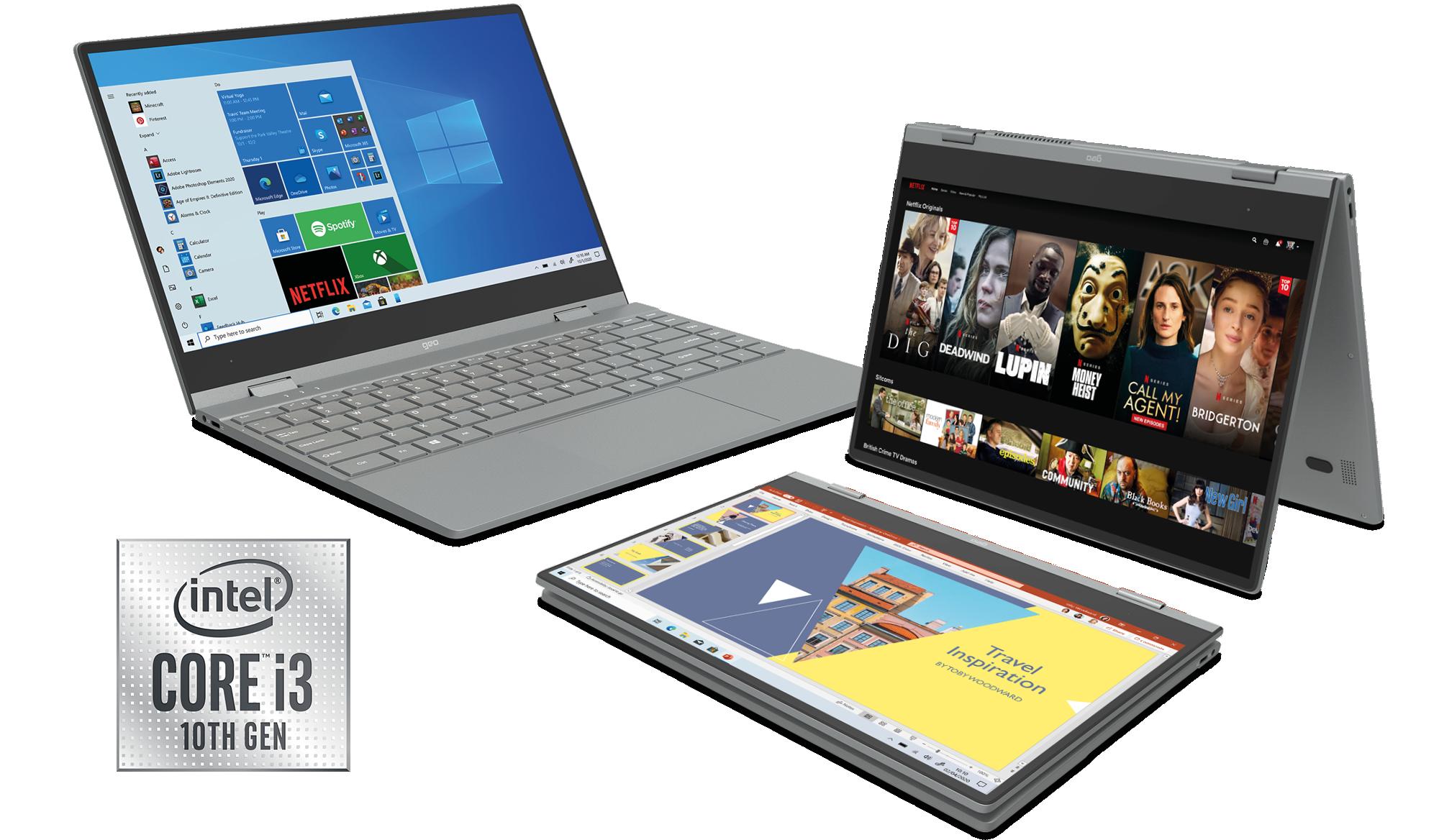 GeoFlex 340 Convertible Laptop