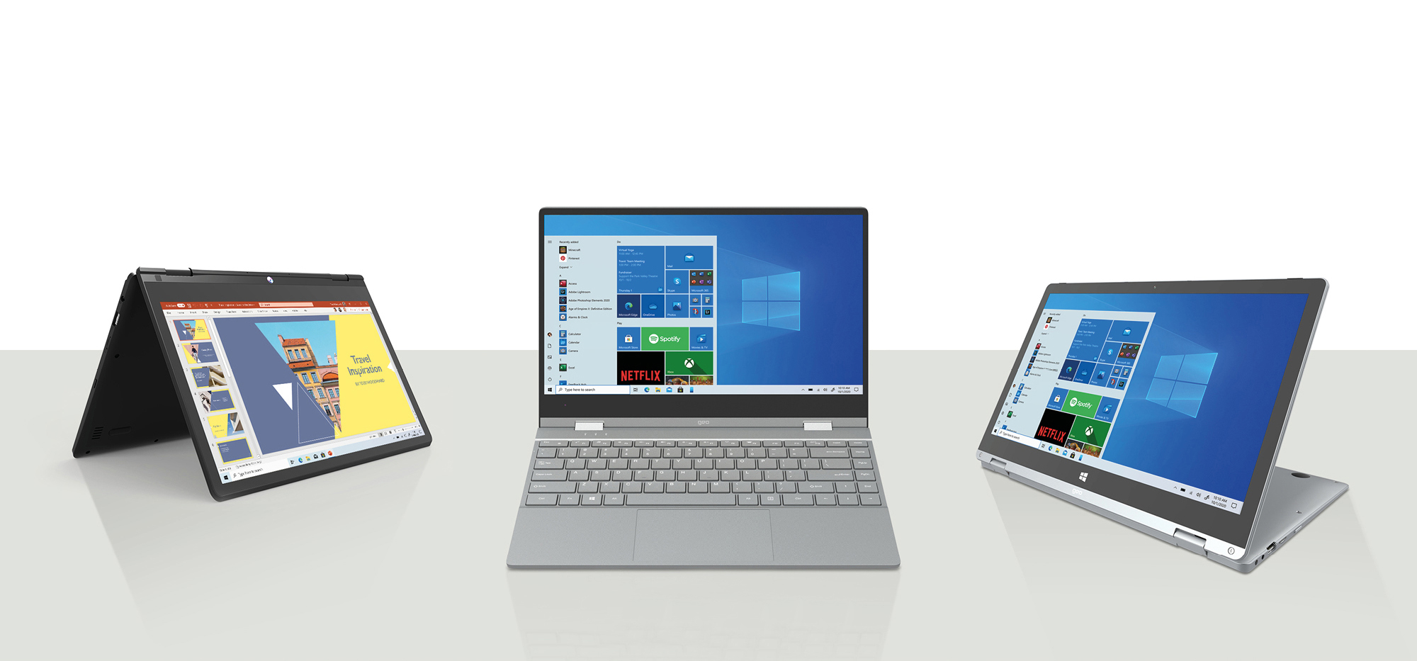 GeoFlex Convertible Laptops
