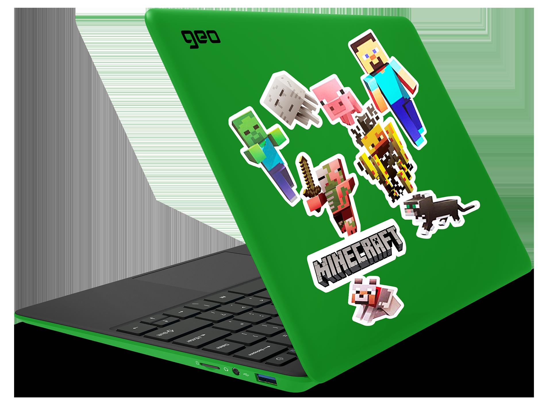 GeoBook 120 Minecraft Edition Green 12.5-inch Laptop